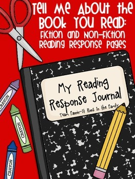 Tell Me About the Book You Read: Reading Response Pages