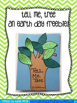 Tell Me, Tree - An Earth Day Freebie!