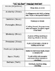 """""""Tell Tale Heart"""" Worksheet Pack (8 pages of fun activities!)"""