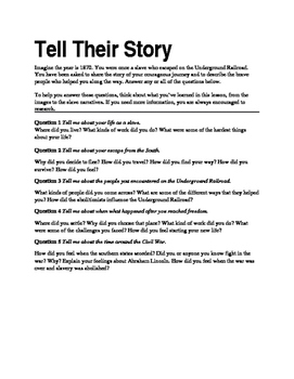 Tell their story