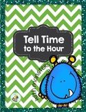 Tell time to the hour with monsters!