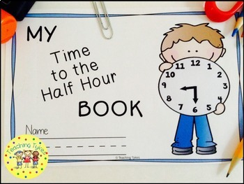 Telling TIme to the Half Hour Book