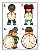 Telling Time Math Centers for Kindergarten and First Grade