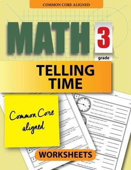 3rd Grade Worksheets: Telling Time