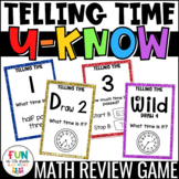 Telling Time Game for Math Centers or Stations