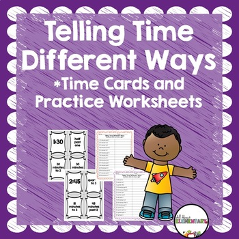Telling Time Different Ways {Games and Practice}