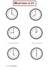 Telling Time Activities & Literacy Unit  1st and 2nd Grade
