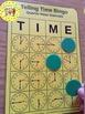 Telling Time Quarter Hour Bingo