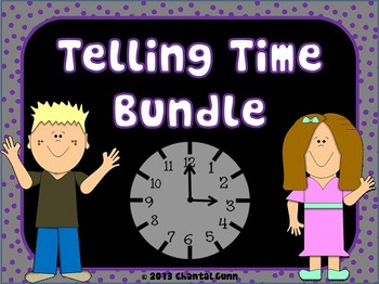 Telling Time Bundle!