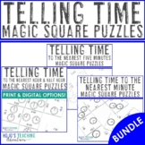 Telling Time Center Game Bundle