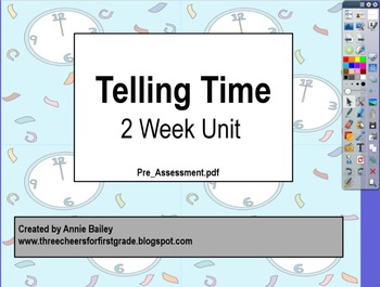 Telling Time Complete Unit (For Promethean Board)
