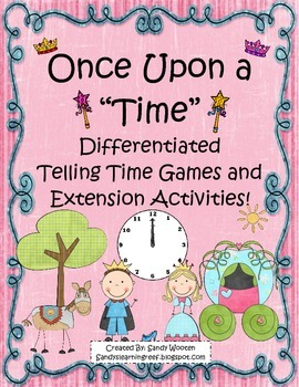 Telling Time Differentiated Small Group Games and Extensio