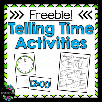 Telling Time Freebie!