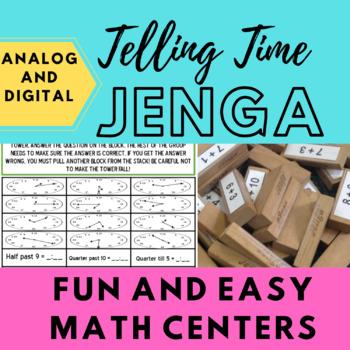 Telling Time Jenga!
