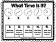 Telling Time Mats: Hour, Half-Hour, Quarter-Hour, Five Minutes