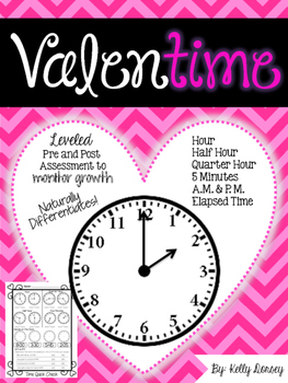 "Telling Time- My Valen""time"""