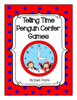 Telling Time Penguin Center Games