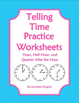 Free Worksheets time worksheets to the nearest half hour : telling time to the hour and half hour worksheets - laveyla.com