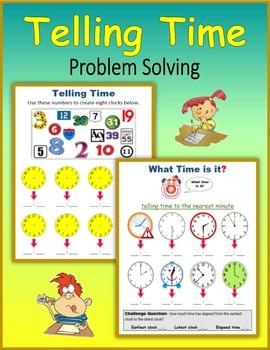 Telling Time:  Problem Solving