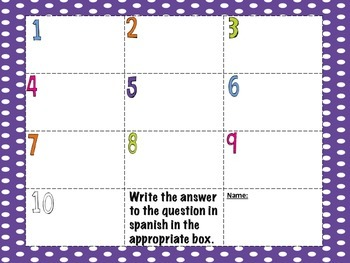 Telling Time QR Task Cards set of 10