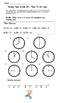 Telling Time Riddles: To the hour, to the half-hour, to th