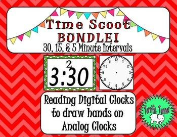 Telling Time SCOOT Bundle!