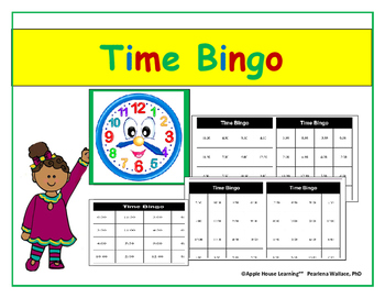 Telling Time: Time Bingo to Hour & Half-Hour