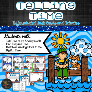 Time:  Differentiated Task Cards