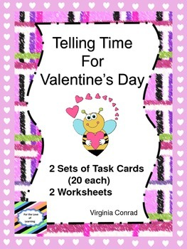 Telling Time at Valentine's Day