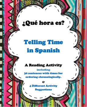 Telling Time in Spanish - BUNDLE