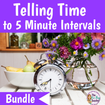 Telling Time to 5 Minute Intervals