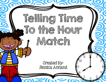 Telling Time to the Hour Match
