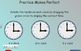 Telling Time to the Hour Smartboard Activity