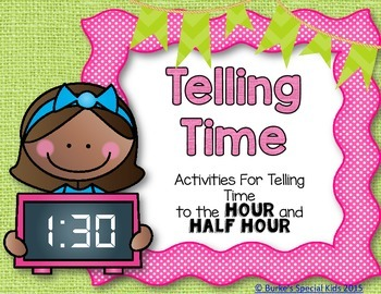‬ Telling Time to the Hour and Half Hour