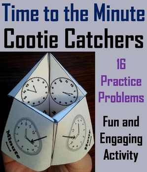 Telling Time to the Minute Game/ Telling Time to the Minut