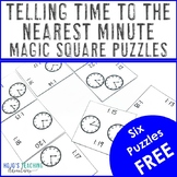 Telling Time to the Nearest Minute FREEBIE