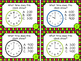 Telling Time to the Nearest Hour and Half Hour Task Cards Set 1