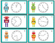 Telling Time to the Minute Game (30 Sets of Task Cards, Ga