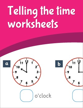 Telling the Time Free Worksheets