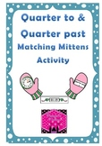 Telling the Time Quarter To and Past Clock Games & Activities