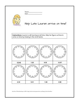 Telling time in analog, digitally, and expressions | Fun w