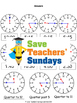 Telling time in numbers and words lesson plans, worksheets