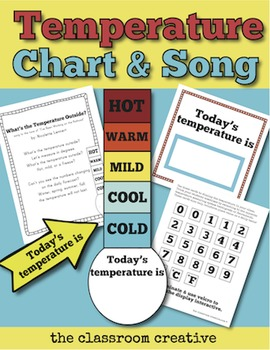 Temperature Chart and Song for Calendar Time