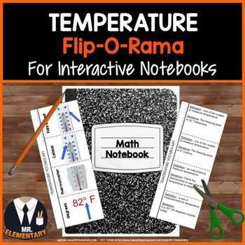 Temperature Vocabulary Interactive Notebook