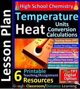 Temperature & Kinetic Energy - Worksheets & Practice Quest