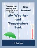 Temperature - My Weather and Temperature Book METRIC Measu