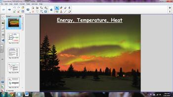 Temperature, Thermal Energy, and Heat (Heat Transfer)