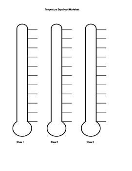 Temperature Worksheet