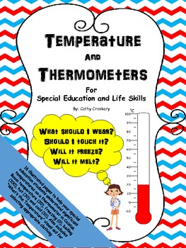 Temperature and Thermometers for Special Education in Celsius