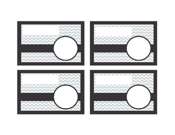 Template for Elementary Classroom Library Book Bin Labels